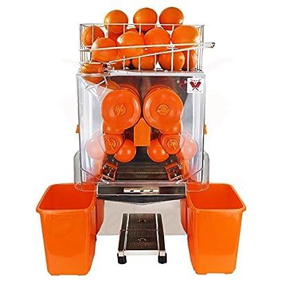 Beeketal Essence eléctrica – Exprimidor de zumo de naranja automáticamente, 20 naranjas rendimiento