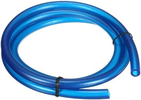 Viviance 1M 5Mm I//D 8Mm O//D Benzina Linea del Combustibile Tubo del Gas DellOlio Tubi Universali per Moto Bike Blu