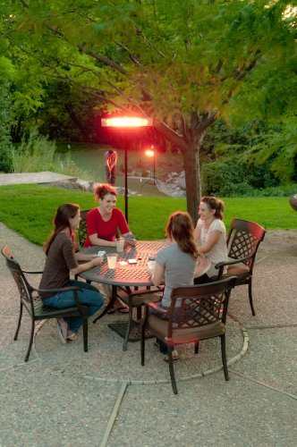 e-joy combo1500ww Remote control LED Carbon Infrared Indoor/Outdoor Patio Heater, 1500W 3 Level Heat Adjust Indoor Space Heater e-Joy Infrared Heaters