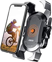 Elvana ONE-Click Bike Phone Mount, 15s Quickly Install, 1 Second Automatically Lock & Release, Bike Access