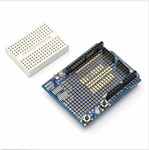 Atmega328P Arduino Prototyping Prototype Shield ProtoShield Mini Breadboard