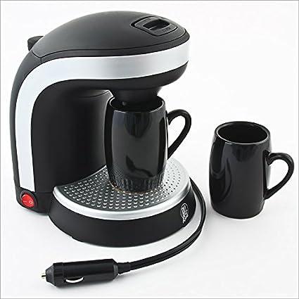 Cafetera de viaje para coche, dos tazas - 12 voltios: Amazon.es: Juguetes y juegos