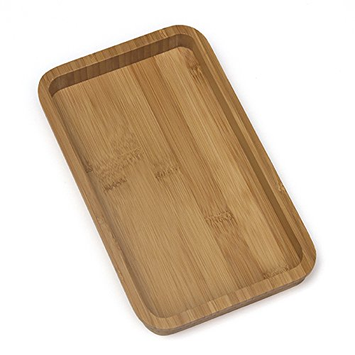 Lipper International 825 Bamboo Guest Towel Tray