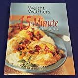 img - for 1998 Weight Watchers 15 MINUTE Hardcover Cookbook book / textbook / text book