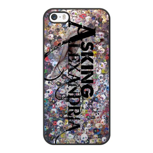 Coque,Coque iphone 5 5S SE Case Coque, Asking Alexandria Right Now Cover For Coque iphone 5 5S SE Cell Phone Case Cover Noir
