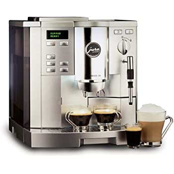 Jura-Capresso 13180 Impressa S8 Super Automatic Coffee Center, Dual-Tone Platinum