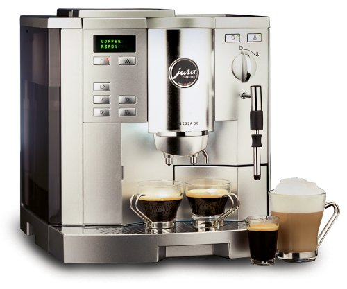 Jura-Capresso 13180 Impressa S8 Super Automatic Coffee Center, Dual-Tone Platinum
