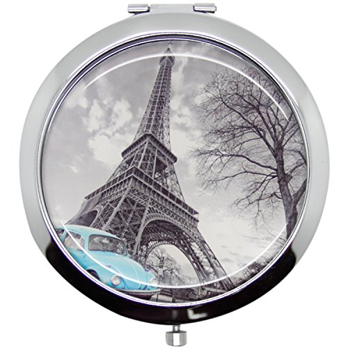 Women Monament Vanity Pocket Mirror G14 One Size
