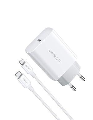JuneyZz 18W Carga Rapido Tipo C Cargador iPad AirPods Pro R/ápido 8 Plus Pared Enchufe Movil PD 3.0 R/ápido USB C Adaptador y 2M Cable Replacement para iPhone SE 2020//11 Pro MAX//XS MAX//XR//X
