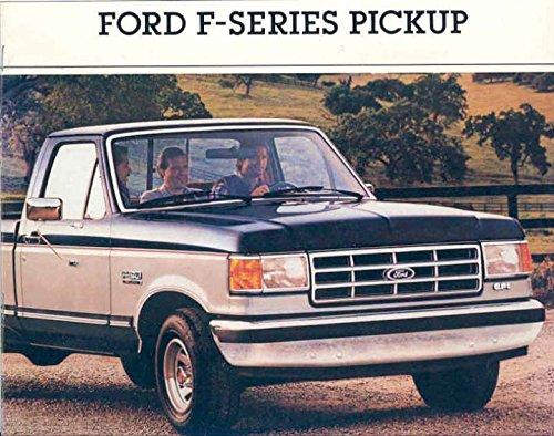 Ford Brochure - 1988 Ford F150 F250 F350 Pickup Truck Brochure