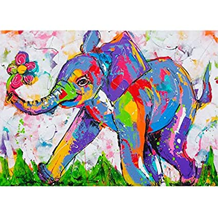 Full Drill Animal Picture Diamond Embroidery DIY 5D Diamond Painting Kit Painting Home Wall Decor Painting Arts Craft 12x16 C /…