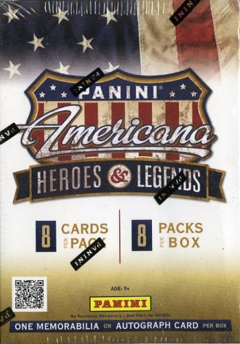 2012 Panini Americana Heroes and Legends Factory Sealed Retail Box with AUTOGRAPH or MEMORABLIA Card ! from Wowzzer