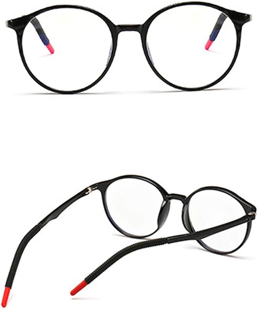 TOFOX Kinder Brille Ohne St/ärke Blaulichtfilter entspiegelten Brille Reduzieren Auge Belastung Kinder Silikon Gl/äser