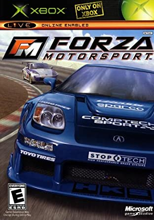 Forza Motorsport 1 Racing First Print BLACK Label for the XBOX ...