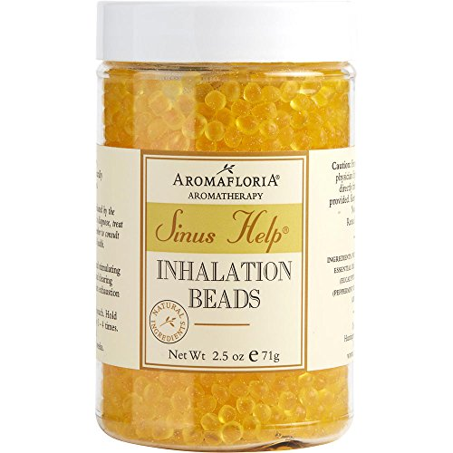 loria INHALATION BEADS 2.5 OZ BLEND OF EUCALYPTUS, PEPPER... (Package of 2 ) ()