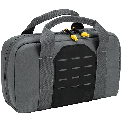 Evike Salient Arms International x Malterra Tactical Pistol Bag - Grey - (60929) by Evike