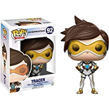 Pop! Games Overwatch Vinyl Figure Tracer (Posh) #92 ThinkGeek Exclusive