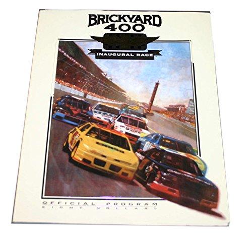 1994 Brickyard 400 program Nascar Jeff Gordon Win #2