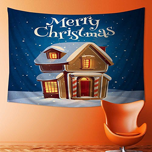 Analisahome Tapestry Wall Hanging Tapestry Gingerbread house