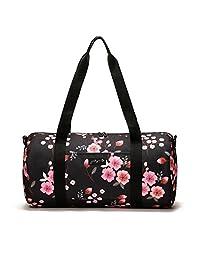 "Jadyn B 19"" Barrel Women's Duffel Bag, Night Blossom"