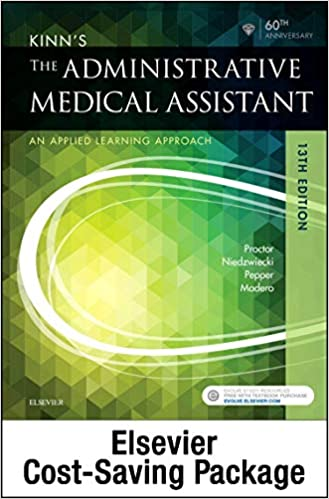 Kinn S The Administrative Medical Assistant Text And Study