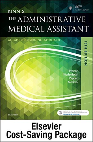 Kinn's The Administrative Medical Assistant - Text, Study Guide, and SimChart for the Medical Office Package