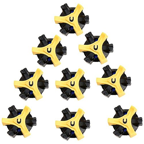 (Forfar 14pcs Golf Shoe Spikes Stinger Screw Small Metal Thread For Golf Sports shoes)