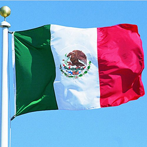 Jlong Mexico World Cup Flag 3x5 - World Cup Flags 2018 Polye