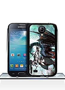 Galaxy S4 Mini Funda Case, Game - Monster Hunter Impact Resistant Durable Aesthetic Personalized Style Anti Dust Extra Slim Compatible with Samsung Galaxy S4 Mini
