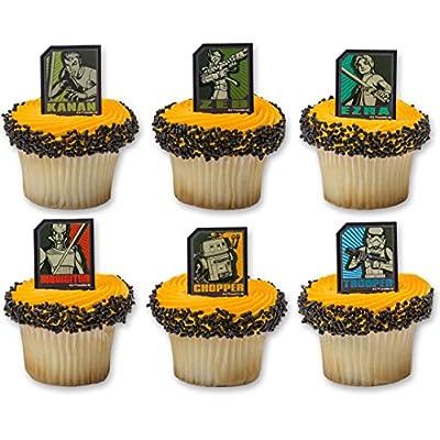 DecoPac Star Wars Rebels Regiment Rings (12 Count): Toys & Games