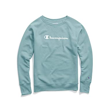 Champion Women s Fleece Boyfriend Crew Sweatshirt at Amazon Women s ... 414c49dee