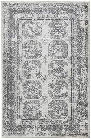Signature Design by Ashley Jirou Large Rug-Motif Pattern-Gray Taupe