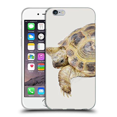 GoGoMobile Coque de Protection TPU Silicone Case pour // Q05550631 Tortue âgée Platino // Apple iPhone 7