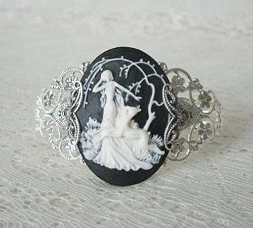 Amazon.com: Goddess Diana Cuff Bracelet, handmade jewelry ...