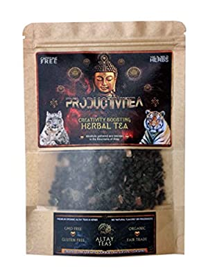 """ProductiviTea"" Herbal Wellness Tea - Organic, Wild crafted - Loose leaf"