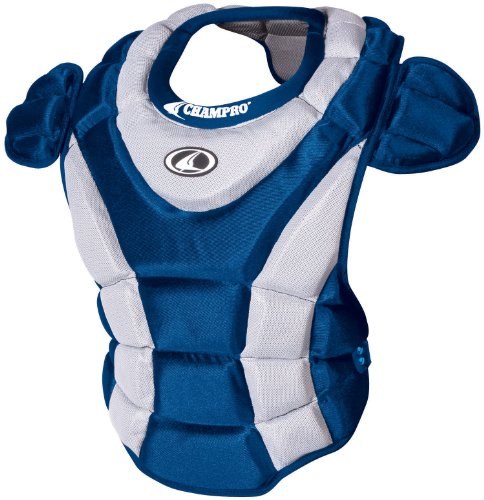 Champro Girl's Chest Protector (Royal, 15-Inch length) - 15 Inch Catchers Chest Protector