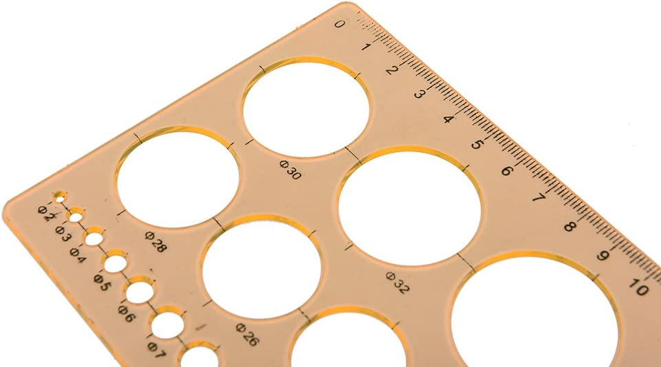 Origami-Papier Kreisgr/ö/ße Schablonen-Werkzeug-Set Quilt-Werkzeug qianqian56 Quilling-Lineal