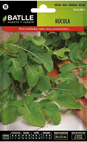 Semillas Aromáticas - Rúcula - Batlle: Amazon.es: Jardín
