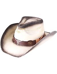 2627b323f03 Western Outback Cowboy Hat Men s Women s Style Straw Felt Canvas