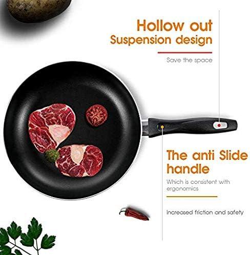Nonstick Frying Pan Set,Skillet Pan,Induction Cooking Pan Cookware Set,Dishwasher Safe PFOA Free,8 and 10.4 with 3Pcs Pan Protectors,BlacK