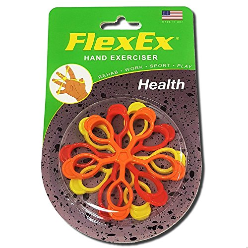 FlexEx® HEALTH Patented Hand Exerciser, Made in USA