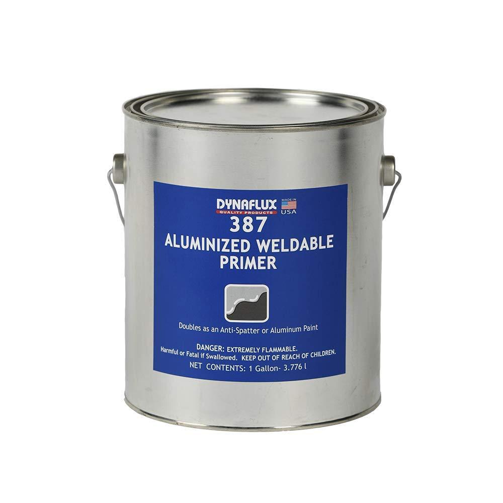 Dynaflux 387 Aluminized Weldable Primer, 1-Gallon by Dynaflux (Image #1)