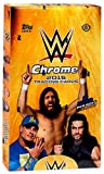 WWE Wrestling 2015 WWE Chrome Trading Card Box