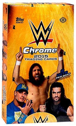 WWE Wrestling 2015 WWE Chrome Trading Card Box by WWE