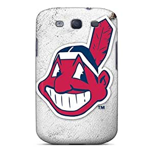 Galaxy Case - Tpu Case Protective For Galaxy S3- Cleveland Indians