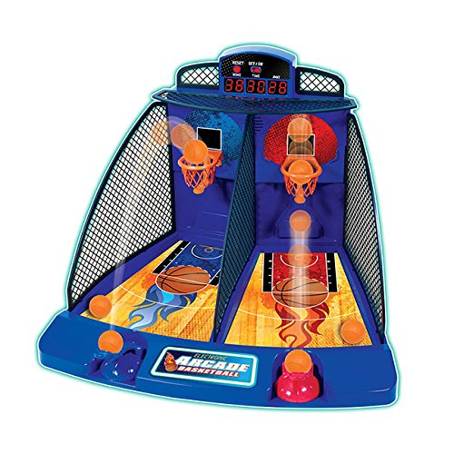 Fat Brain Toys Electronic Arcade Basketball (Electronic Basketball Hoops)