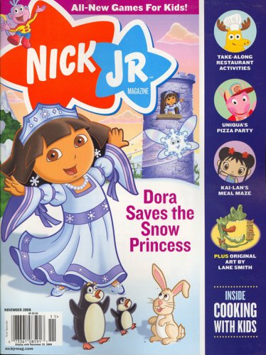 Nick Jr, November 2008 Issue: Editors of NICK JR Magazine: Amazon ...