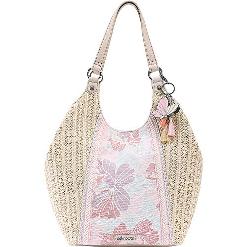Sakroots Roma Shopper (Petal Pink Flower Blossoms) ()