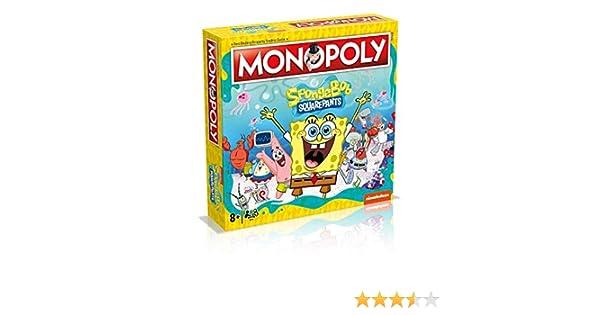 Juego de mesa Monopoly Spongebob Squarepants: Amazon.es: Juguetes y juegos