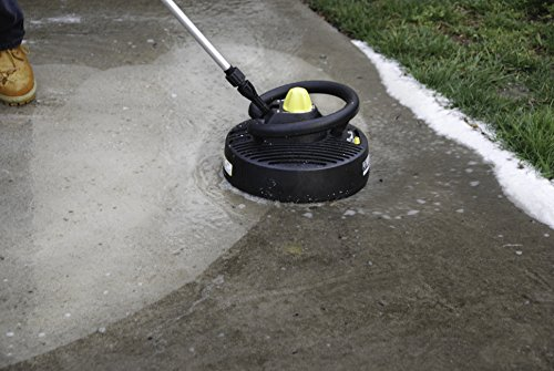 Karcher t350 12 inch surface cleaning for gas power for Pressure washer driveway cleaner